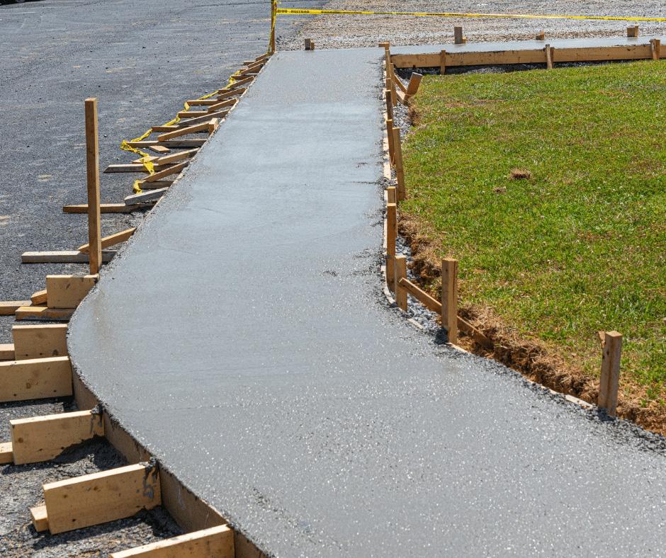 concrete sidewalk atl